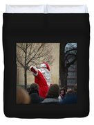 Santa Says Hello Duvet Cover