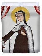 Santa Teresa De Avila - St. Teresa Of Avila - Aotda Duvet Cover