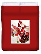 Santas Duvet Cover
