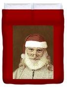 Santa's Day Off Duvet Cover