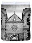 Sante Fe Cathedral Duvet Cover