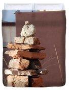 Sante Fe Rocks Duvet Cover