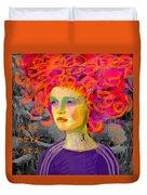 Santia In Adidas Bluse 981 Duvet Cover