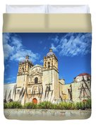 Santo Domingo Church View Duvet Cover