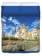 Santo Domingo Church Wide Angle Duvet Cover