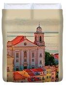 Santo Estevao Church Duvet Cover