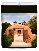 Santo Nino De Atocha Chimayo New Mexico Duvet Cover