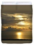 Santorini. Sunlight Duvet Cover