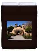 Santuario De Chimayo Adobe Chapel Duvet Cover