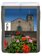 Sao Miguel Arcanjo Church Duvet Cover