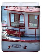 Saoirse Boat Donegal Duvet Cover