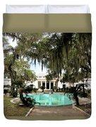 Sapelo Mansion  Duvet Cover