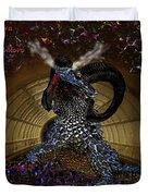 Saphira The Dragonlord Duvet Cover