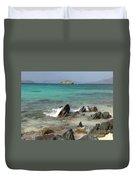Sapphire Beach Duvet Cover