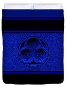 Sapphire Infinity Duvet Cover