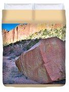 Sapphire Rock Duvet Cover