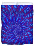 Sapphire Swirl Duvet Cover