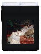 Sarah Bernhardt Duvet Cover by Georges Clairin
