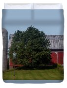 Saranac Michigan Duvet Cover