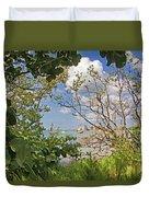 Sarasota Bay Duvet Cover