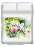 Sarasota Orchids Duvet Cover