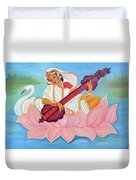 Saraswati Duvet Cover by Shruti Prasad
