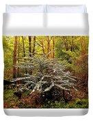 Sargent Crabapple Tree Duvet Cover