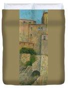Sartene Corsica Duvet Cover