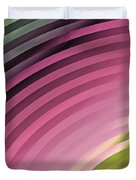 Satin Movements Pink II Duvet Cover