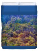Saturated Forest Duvet Cover