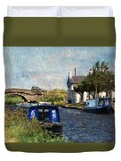 Saturday At The Saracens Head Duvet Cover