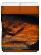 Saturday Sunset Duvet Cover