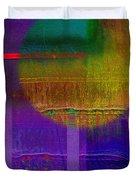 Saturn Lavender Duvet Cover