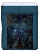Saturnine Night Duvet Cover