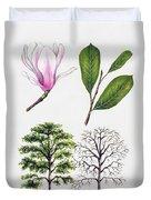 Saucer Magnolia Duvet Cover