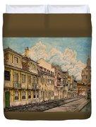 Saudade/ The Swallows Of Lisbon Duvet Cover