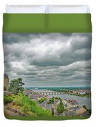 Saumur, Chateau, Loire, France Duvet Cover