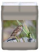 Savanah Sparrow Duvet Cover