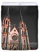Savanna Georia Church Color Infrared 74 Duvet Cover