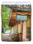 Savannah Antique Shop Duvet Cover