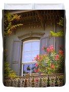 Savannah Balconies II Duvet Cover