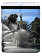 Savannah Fountain Duvet Cover