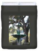 Savannah Green Duvet Cover