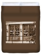 Savannah Sepia - Antique Shop Duvet Cover