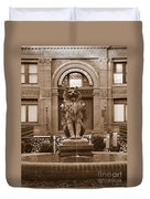 Savannah Sepia - Cotton Exchange Building Duvet Cover