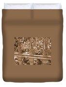 Savannah Sepia - Finials Duvet Cover
