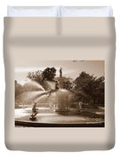 Savannah Sepia - Forsyth Fountain Duvet Cover