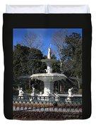 Savannah Square Fountain Duvet Cover