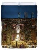 Savannah's Historic River Street Duvet Cover