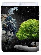 Save Tree Duvet Cover